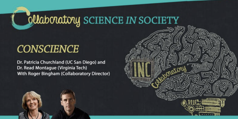 Collaboratory Science in Society flier with Read Montague