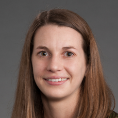 Headshot of Mary Elizabeth Baugh, Ph.D.
